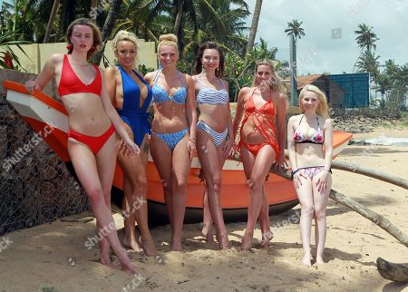 Ellie Wilson Miss Liverpool 2017, Jennifer Atkin Miss Yorkshire 2017, Olivia Green Miss Genting Stoke and Miss Miss Premier Ceylon-England, Rachel Pitman Miss Hertfordshire 2017, Jodie Duckworth Miss Nuneaton 2017, Samantha Bumford Miss Dorset 2017