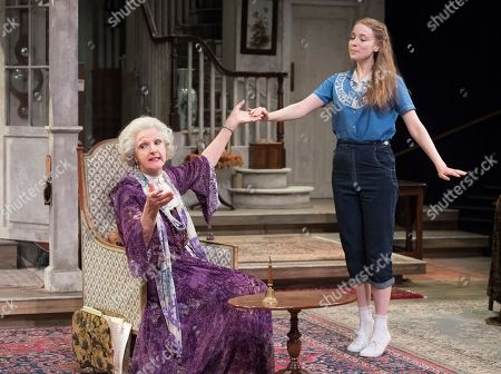 Penelope Keith as Mrs St Maugham, Emma Curtis as Laurel