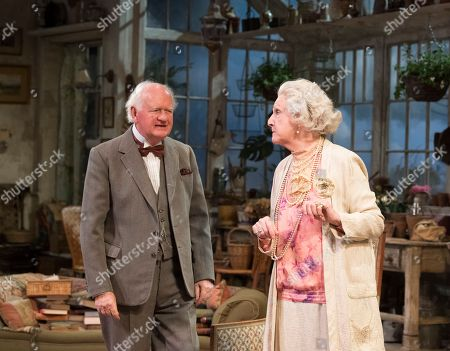 Editorial picture of 'The Chalk Garden' Play performed at the Chichester Festival Theatre, UK -  30 May 2018