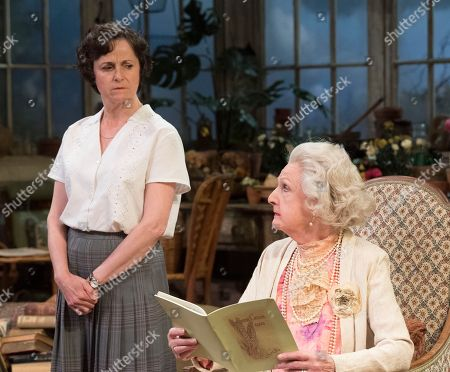 Penelope Keith as Mrs St Maugham, Amanda Root as Miss Madrigal