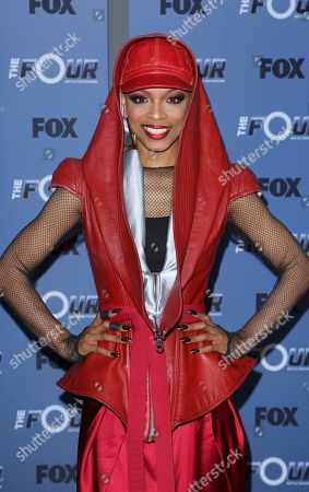 "Stock Photo of Sharaya J arrives at the LA Premiere of ""The Four: Battle For Stardom"" at the CBS Radford Studio Center, in Los Angeles"