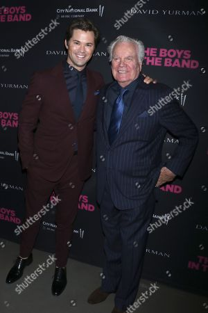 Andrew Rannells and Robert Wagner