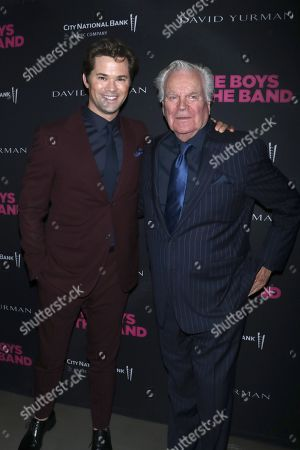 Stock Image of Andrew Rannells and Robert Wagner