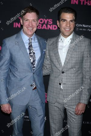 Brian Hutchison and Zachary Quinto