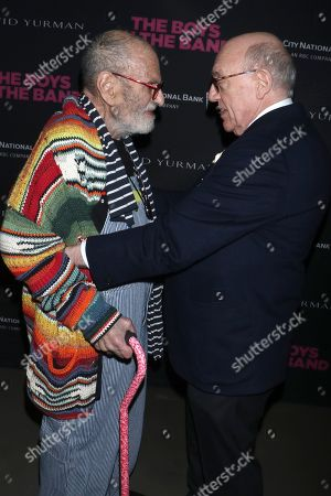 Larry Kramer and Mart Crowley, Playwright