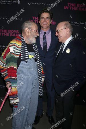 Larry Kramer, Matt Bomer and Mart Crowley, Playwright