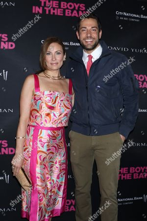 Laura Benanti and Zachary Levi