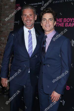 Stock Picture of Simon Halls and husband Matt Bomer