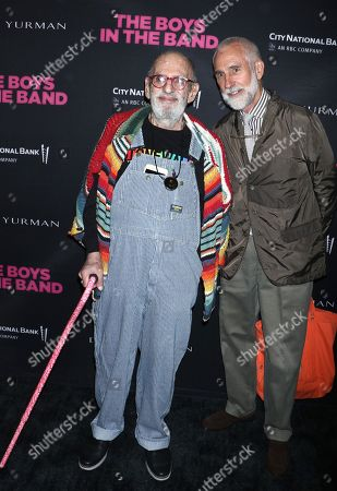 Stock Photo of Larry Kramer and William David