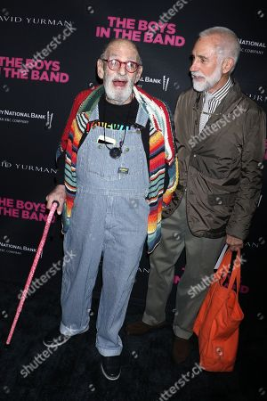 Stock Picture of Larry Kramer and William David