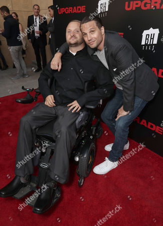 Logan Marshall-Green (right) and guest