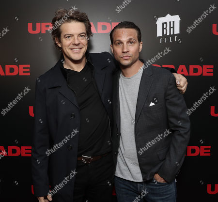Producer Jason Blum and Logan Marshall-Green