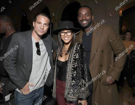 Stock Picture of Logan Marshall-Green, Lex Scott Davis and Aldis Hodge