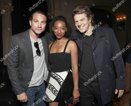 Logan Marshall-Green, Betty Gabriel and Producer Jason Blum