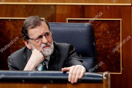Mariano Rajoy and Soraya Saez de Santamaria