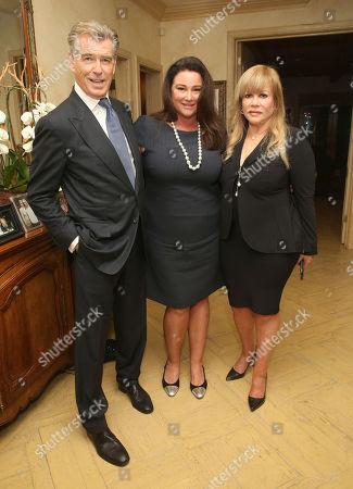 Pierce Brosnan, Keely Shaye Smith, Daphna Edwards Ziman