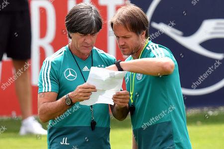 Joachim Loew and Thomas Schneider
