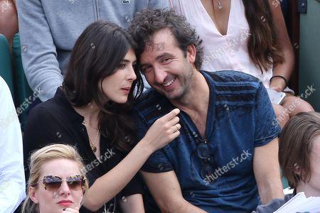 Stock Image of Sandrine Calvayrac and Cyrille Eldin