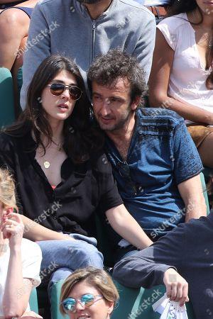 Stock Photo of Sandrine Calvayrac and Cyrille Eldin