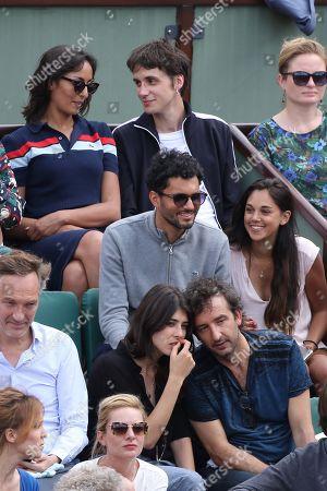 Leila Kaddour and boyfriend Pierre Guenard; Sandrine Calvayrac and Cyrille Eldin