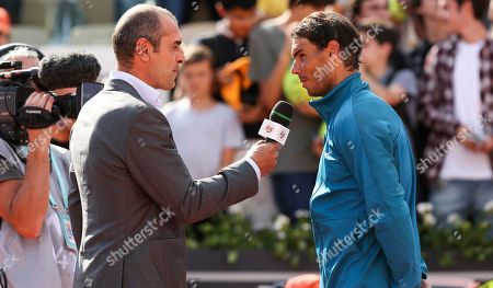 Editorial image of French Open Tennis Championships, Day Five, Roland Garros, Paris, France - 31 May 2018