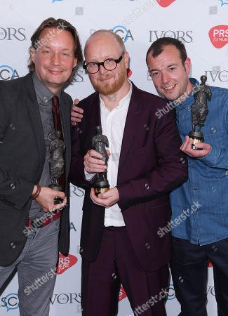 Editorial image of Ivor Novello Awards, Press Room, London, UK - 31 May 2018