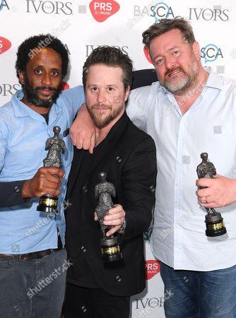 Elbow - Pete Turner, Guy Garvey and Mark Potter (Best Song Musically & Lyrically Award)