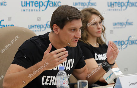 Ksenia Sobchak and Dmitry Gudkov