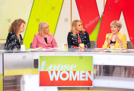 Nadia Sawalha, Linda Robson, Anastacia and Gloria Hunniford