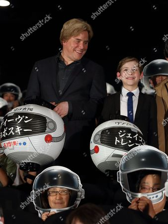 Stock Picture of Director Stephen Chbosky, Jacob Tremblay