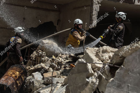 Editorial picture of Explosion in Idlib, Syria - 31 May 2018