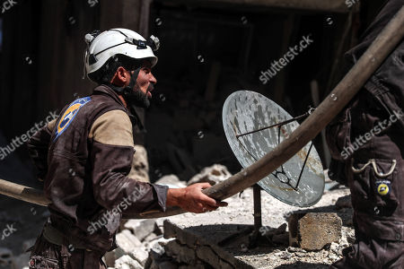 Editorial image of Explosion in Idlib, Syria - 31 May 2018