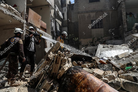 Editorial photo of Explosion in Idlib, Syria - 31 May 2018