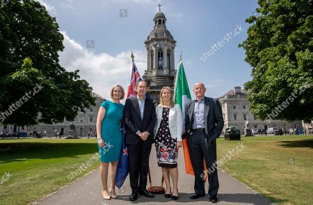 Editorial image of Federation of Irish Sport Conference, Edmund Burke Theatre, Trinity College, Dublin  - 31 May 2018