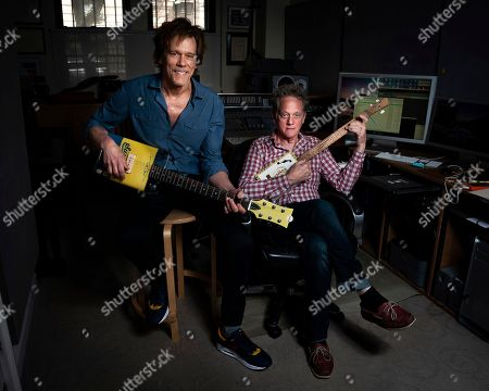 Kevin Bacon, Michael Bacon. Brothers Kevin Bacon, left, and Michael Bacon pose in New York to promote their self-titled album out Friday. The pair will also launch a three-month concert tour