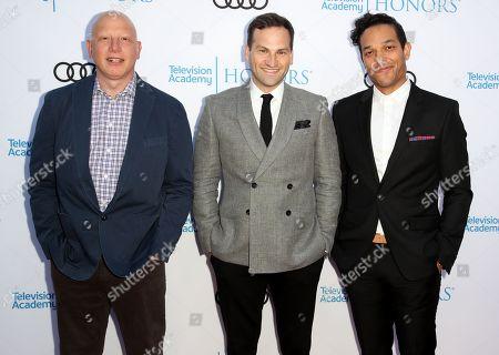 Stock Image of Jonathan Chinn, Dan Lindsay and TJ Martin