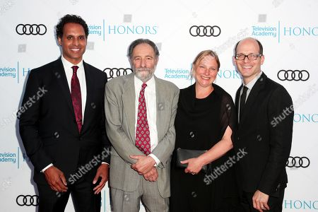 Ajit George, Eric Roth, Vanessa Roth and Jason Spingarn-Koff