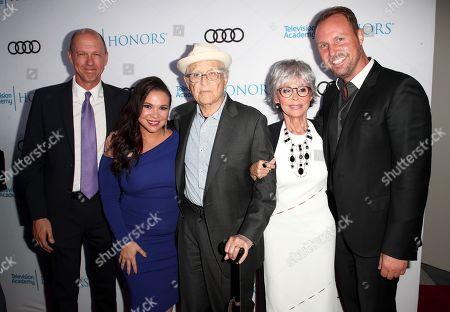Mike Royce, Gloria Calderon Kellett, Norman Lear, Rita Moreno and Brent Miller