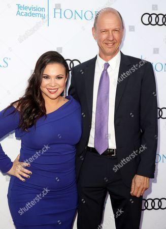 Gloria Calderon Kellett and Mike Royce