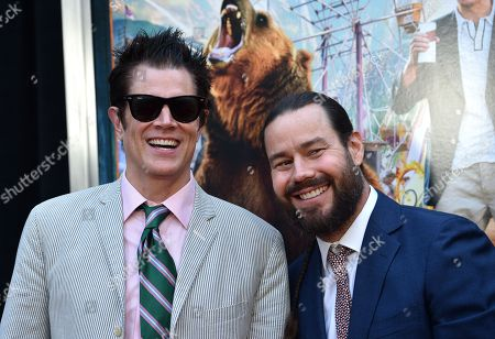 Johnny Knoxville and Chris Pontius