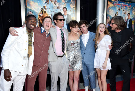 Stock Picture of Eric Manaka, Johnny Pemberton, Johnny Knoxville, Brigette Lundy-Paine, Conner McVicker, Eleanor Worthington Cox and Tim Kirkby