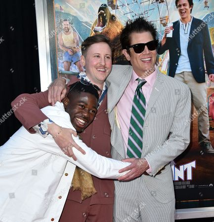 Stock Picture of Eric Manaka, Johnny Pemberton and Johnny Knoxville