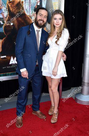 Chris Pontius and Eleanor Worthington Cox
