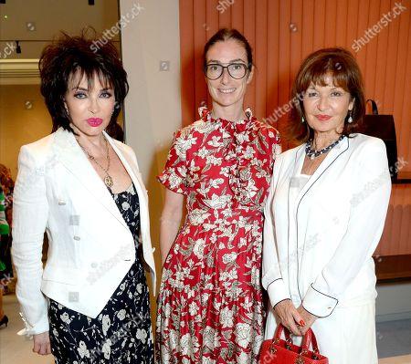 Cheryl Howard, Sara Ferrero and Stephanie Beacham