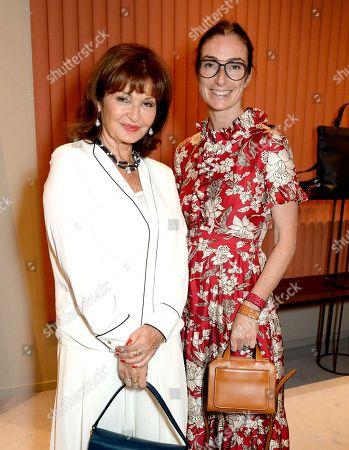 Stock Photo of Stephanie Beacham and Sara Ferrero