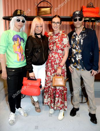 Roger Spy, DJ Henri, Sara Ferrero and Mark Wardel
