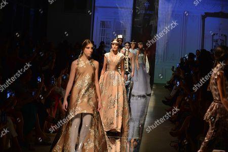 Editorial image of Oscar Carvallo show, Miami Fashion Week, USA - 30 May 2018
