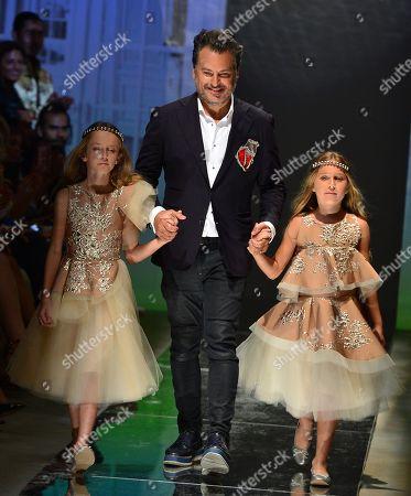 Editorial photo of Oscar Carvallo show, Miami Fashion Week, USA - 30 May 2018