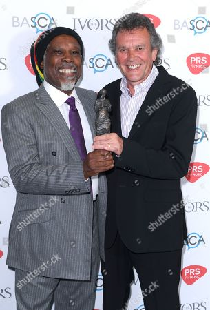 Billy Ocean and Steve Jenkins