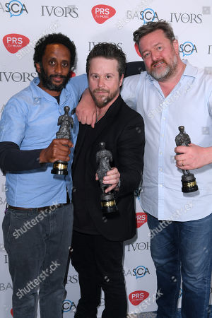 Pete Turner, Guy Garvey and Mark Potter of Elbow